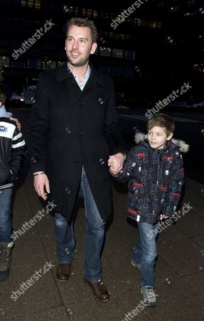 Martin Jorgensen and Prince Felix