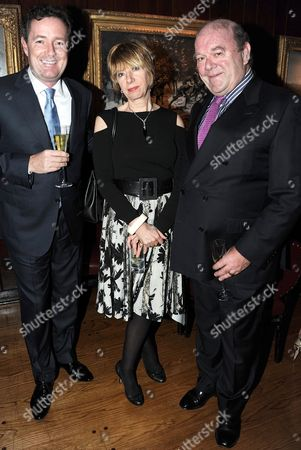 Piers Morgan, Paul McGuinness and Wife
