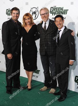 Tori Belleci, Kari Byron, Adam Savage and Grant Imahara from Mythbusters