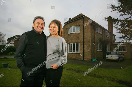 Paul Elliott with his wife Sue.