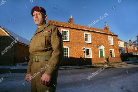 Editorial image of Corporal Richard Nauyokas at home in Billingborough, Britain - 10 Jan 2011