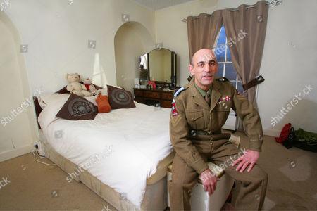 Editorial photo of Corporal Richard Nauyokas at home in Billingborough, Britain - 10 Jan 2011