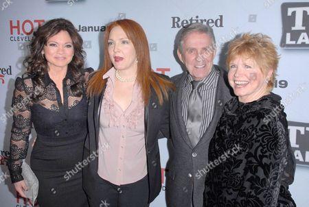 Stock Photo of Valerie Bertinelli, Amy Yasbeck, Pat Harrington Jr and Bonnie Franklin