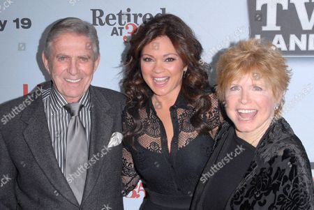 Valerie Bertinelli, Pat Harrington Jr.and Bonnie Franklin