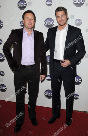 Stock Picture of Chris Harrison and Brad Womack