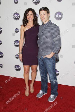 Valerie Cruz and Zach Gilford