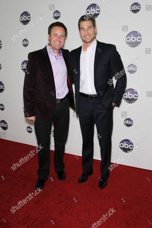 Stock Photo of Chris Harrison and Brad Womack