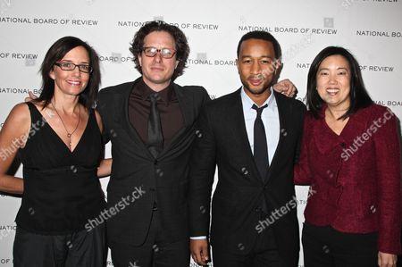 Guest, Davis Guggenheim, John Legend and Michelle Rhee