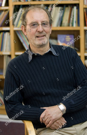 Ian Whybrow, creator of the 'Harry and The Bucketful of Dinosaurs' series of childrens books, Britain