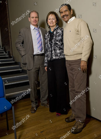 Erwin James, Lady Rachel Billington with former US death row inmate Wilbert Rideau