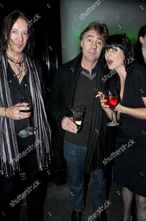 Stock Picture of Guest, Glen Matlock and LG White