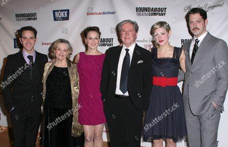 Stock Image of Santino Fontana, Dana Ivey, Sara Topham, Brian Bedford, Charlotte Parry, David Furr