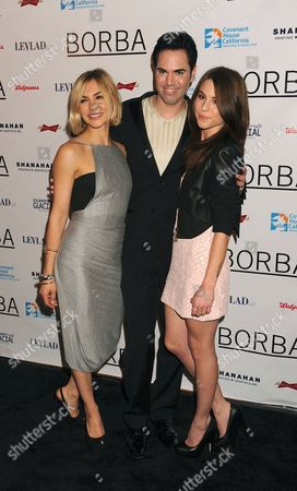 Samaire Armstrong, Scott Vincent Borba and Kendra Krull