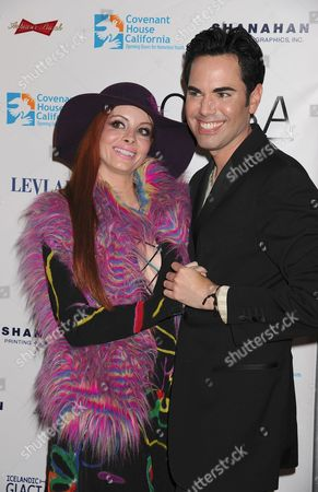 Stock Picture of Phoebe Price and Scott Vincent Borba