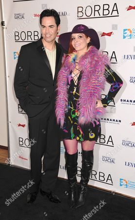 Stock Photo of Scott Vincent Borba and Phoebe Price