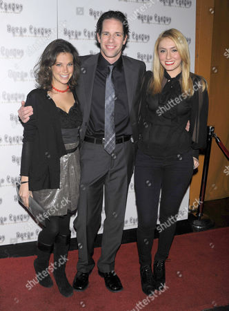Stock Image of Shira Weitz, Rex Irons and Zoe Sloane