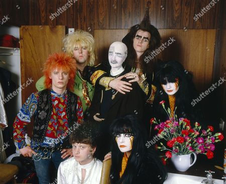 Stock Photo of Doctor and The Medics - Steve Ritchie, Steve McGuire, Richard Searle, Clive Jackson (The Doctor) and Wendy West and Colette Appleby aka the Anadin Brothers