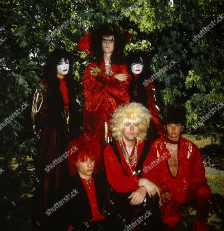 Editorial image of Doctor and The Medics at the video shoot for their 'Spirits In The Sky' single at Wembley Studios, London, Britain - 1986