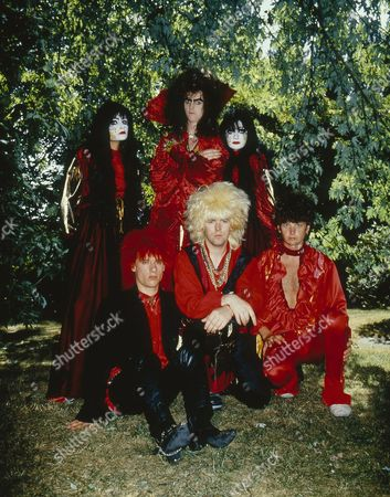 Editorial photo of Doctor and The Medics at the video shoot for their 'Spirits In The Sky' single at Wembley Studios, London, Britain - 1986