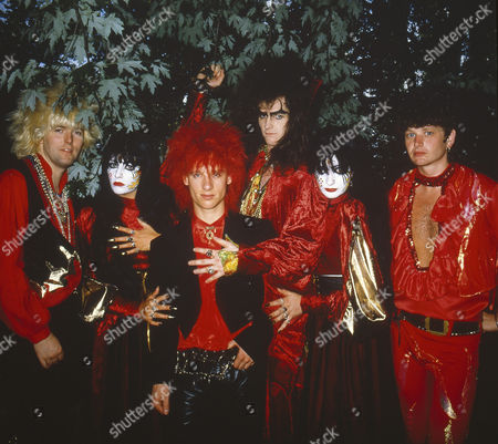 Stock Picture of Doctor and The Medics - Steve McGuire, Steve Ritchie, Clive Jackson (The Doctor) and Richard Searle with Wendy West and Colette Appleby aka the Anadin Brothers