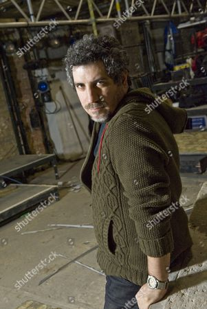Stock Photo of Mehmet Ergen, actor and artistic director of the Arcola Theatre