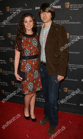 Demetri Martin and Rachael Beame