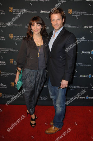 Jamie Bamber & wife Kerry Norton