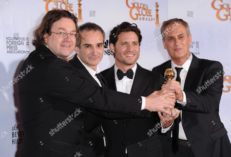 Editorial picture of The 68th Annual Golden Globe Awards, Press Room, Beverly Hilton Hotel, Los Angeles, America - 16 Jan 2011