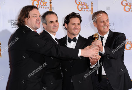 Best mini-Series or Motion Picture Made for Television for 'Carlos' producer Jens Meurer, writer/director Olivier Assayas, Edgar Ramirez and producer Daniel Leconte