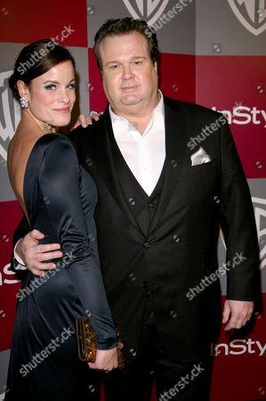 Stock Photo of Catherine Tokarz and Eric Stonestreet