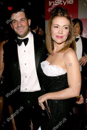 Alyssa Milano and husband David Bugliari