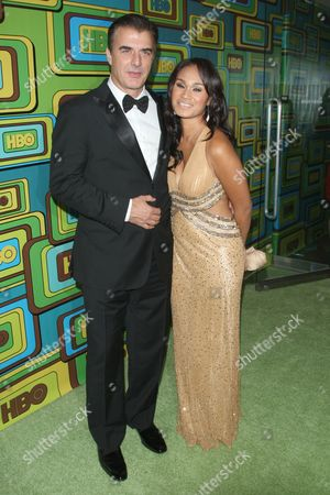 Stock Picture of Chris Noth and Tara Lynn Wilson