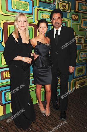 Arlene Vrhel, Gia Mantegna and Joe Mantegna