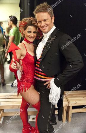 Craig McLachlan with dancing partner Maria Filippov