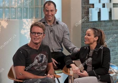 Craig McLachlan, Lukasz Rozycki and Elen Rivas