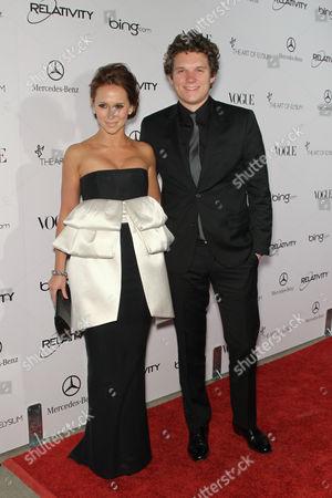 Jennifer Love Hewitt and Alex Beh
