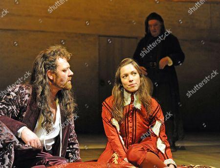 Marton Csokas, Rebecca Hall and David Ryall