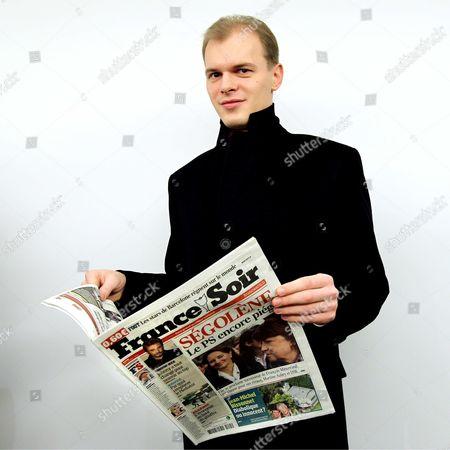 Editorial photo of France Soir Newspaper press conference, Paris, France - 14 Jan 2011