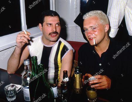 Stock Image of Freddie Mercury and Belouis Some