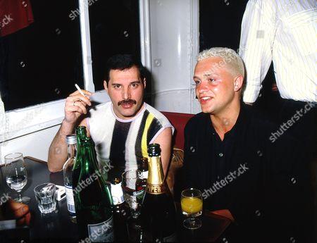 Freddie Mercury and Belouis Some