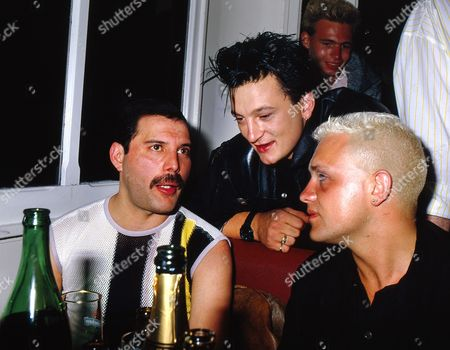 Editorial image of Queen 'It's a Kind of Magic' party aboard the  boat 'Italie', Montreux, Switzerland - 10 May 1988