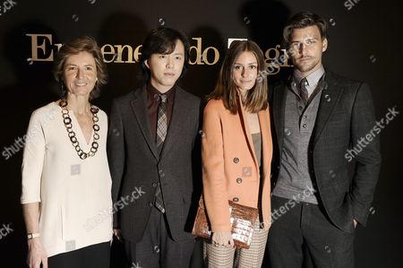 Anna Zegna, Li Yundi, Olivia Palermo and Johannes Huebl