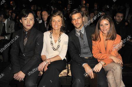 Li Yundi, Anna Zegna, Johannes Huebl and Olivia Palermo