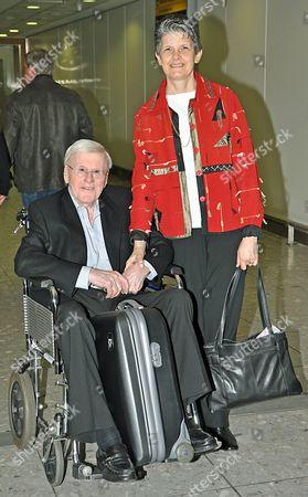 Jimmy Young and wife Alicia