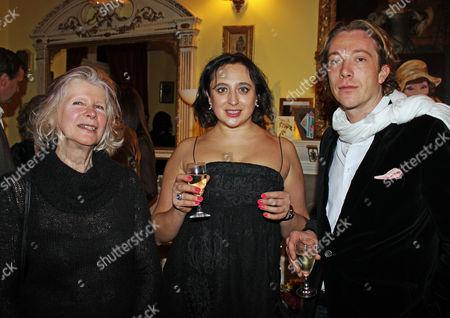 Stock Photo of Patricia Sherlock, Hanna Morton and William Sweeting