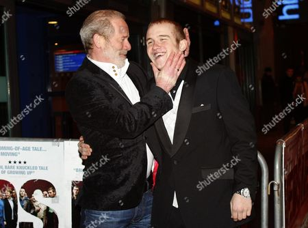 Peter Mullan and Conor McCarron