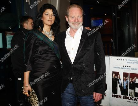 Robina Qureshi and Peter Mullan