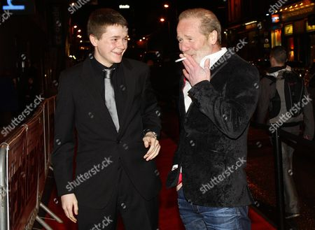 Stock Picture of Gregg Forest and Peter Mullan