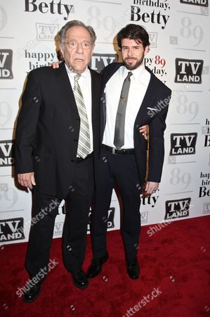 Stock Image of George Segal and Johnathan McClain