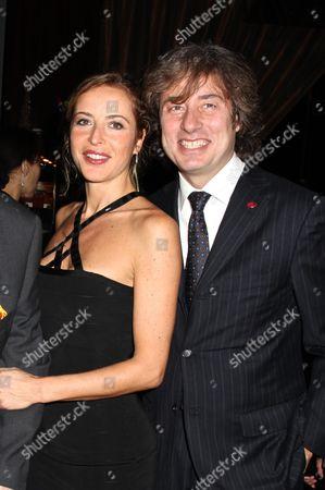 Stock Photo of Marco Maccioni and wife Sabrina Wender